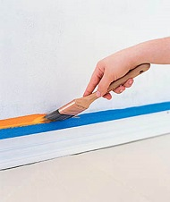build paint projector screen on wall